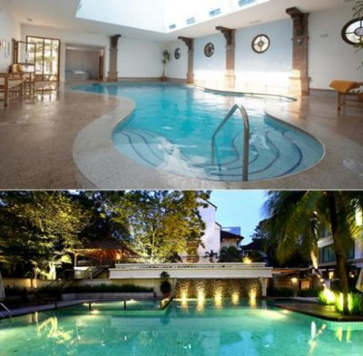 Piscina interior vs piscina exterior vantagens e for Piscina interior